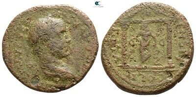 Savoca Coins Macedon Cassandreia Caracalla Statue Ammon 8,78 g / 25 mm @WFG2259