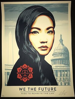 Shepard Fairey Obey Giant We The Future For the Classroom & Beyond /450 SOLD OUT
