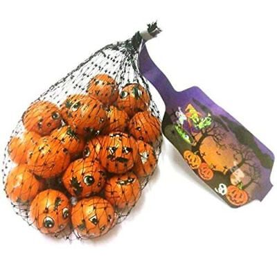 Halloween milk chocolate solid balls netted - 75g Parties Party bag treat