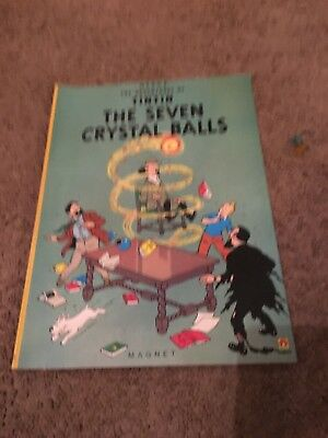 The Seven Crystal Balls (The Adventures of Tintin), Herge, Good Condition Book,