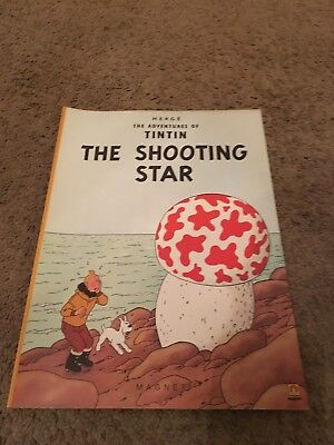 The Shooting Star (The Adventures of Tintin) by Herge Paperback Book