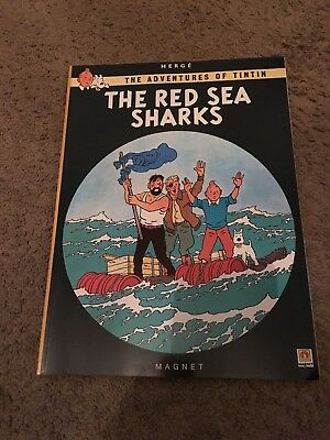 The Adventures of Tintin The Red Sea Sharks by Herge (Paperback, 1985)