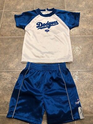 Los Angeles Dodgers baby Jersey/shirt and shorts size 24M