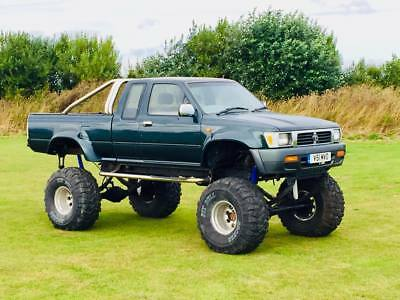 Monster V8 Hilux Show Truck One Off  Promo Advertisment Road Legal Offroad