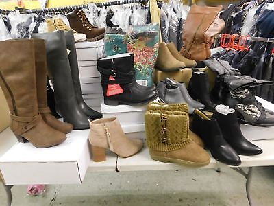Joblot 450+ Pairs - Boots & Shoes. Various Sizes.