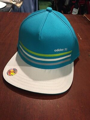 Adidas Baseball Cap. Large/XLTurquoise/white Peak. NEW