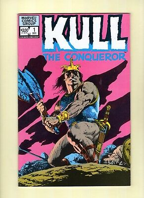 Kull the Conqueror #1 and #2  --  Marvel 1982 - John Bolton!  -- --  9.4  NM