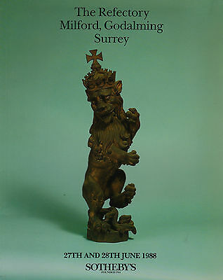 The Refectory Milford Godalming Surrey House Sale Auction Catalogue