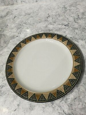 "Denby Boston Spa Blue Dinner Plate 10.5"" approx"
