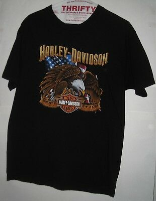 HARLEY-DAVIDSON Men's T-Shirt LARGE Erie, Pennsylvania World Class Motorcycle PA