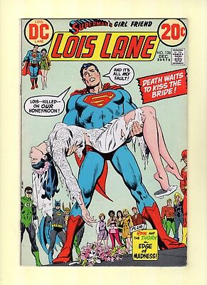 Superman's Girlfriend Lois Lane #128  --  Rose and Thorn!  -- --  7.5  VF-