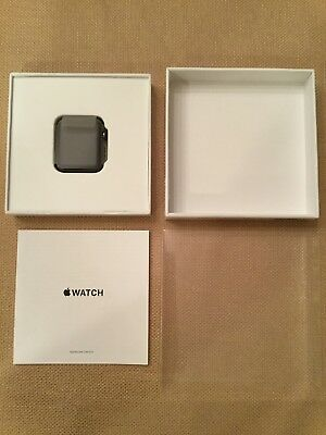 Apple Watch (Gen 1) Space Gray 42mm Aluminum Warranty Replacement A1554 - New