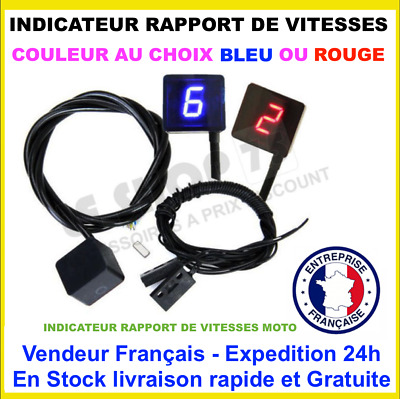 INDICATEUR DE RAPPORT ENGAGE MOTO Indicador De Marcha Ganganzeige Gear Indicator