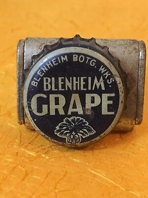 Blenheim Grape soda pop bottlecrown cap South Carolina tax Stamp SC