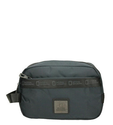 National Geographic - Neceser N.Generation azul-23x10x14,5cm- Hombre/chico Nylon