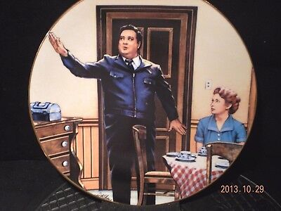 BANG ZOOM ( Jackie Gleason) COLLECTOR'S PLATE +Free Gift