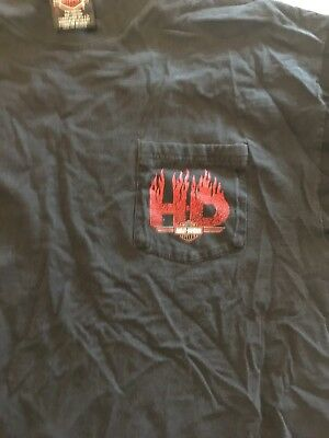 Used Harley T Shirt From 1990's