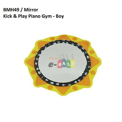 Fisher-Price Replacement Mirror for Kick & Play Piano Gym - Boy (Model BMH49)