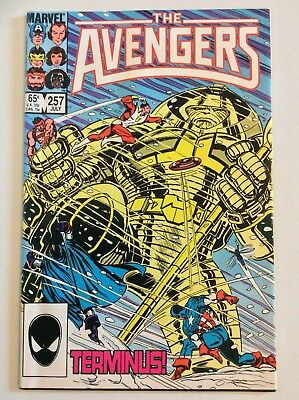 The Avengers #257 (Marvel, 1985)  1st Nebula Guardians of the Galaxy FREE S/H