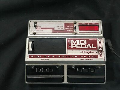 DOD DigiTech PDS3500 The MIDI Pedal Controller FREE SHIPPING