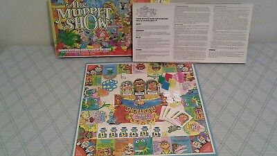 PARKER BROTHERS Board Games 1979 THE MUPPET SHOW Complete