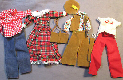 Lot of Vintage Clothes for Pedigree Sindy - Cute Casuals