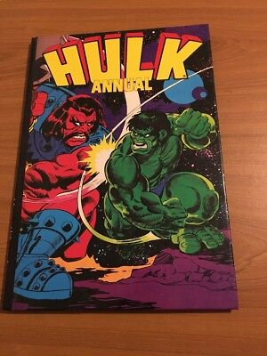 The Hulk Annual (1981) Vintage Superheroes Hardback