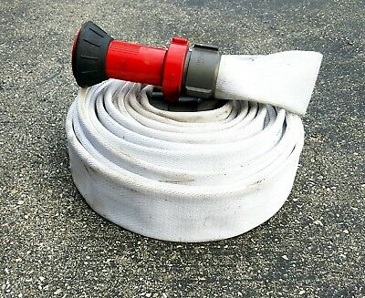 Fire Hose 50' with Nozzle