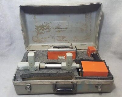 Metrotech 810 Pipe Cable Locator Transmitter,Receiver and Leads - Needs Repairs