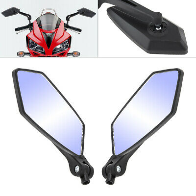 Universal Scooter Side Rearview Mirrors Pair Moped ATV Motorcycle Backup 10mm