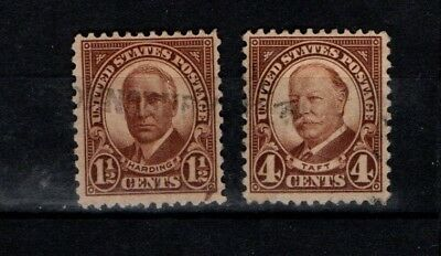United States 1930 Harding and Taft SG 685-86 Sc 684-85 Used
