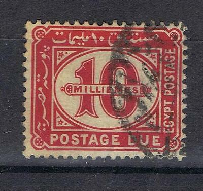 Egypt 1921 10mi Postage Due SG D103 Used