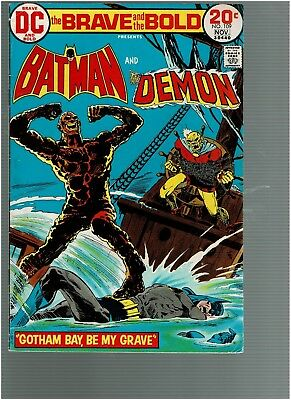 Brave and the Bold 109 Batman The Demon VF+