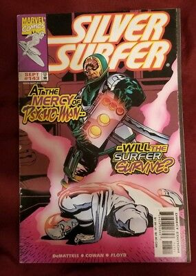 Silver Surfer  #143 1998 At The Mercy of Psycho-Man.