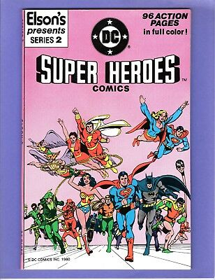 Elson's Presents #2  - 1981 - DC Super-Heroes - 96 pages  --  9.0  VF/NM  cond.
