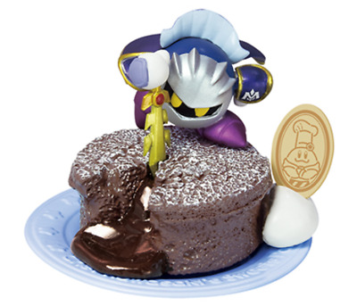 Kirby Super Star Mini Figure CHEF KAWASAKI'S SWEETS Party META KNIGHT JP Re-ment