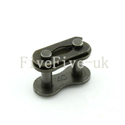 1 PCS 08A-1 Chain Connector 12.7mm Pitch for #40 Roller sprocket Chain