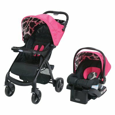 Graco Verb Travel System - Azalea, Multi-Color