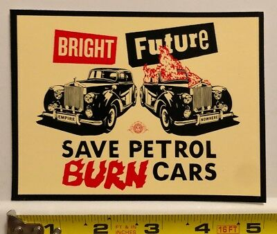 Obey Giant Shepard Fairey Large Bright Future Burn Cars sticker Decal Andre