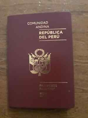 Passport Biometric Peru