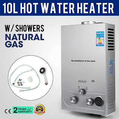 10L Natural Gas Hot Water Heater Fashionable Automatic Ignition Safe PRO