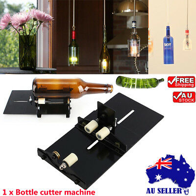Glass Bottle Cutter DIY Wine Beer Bottle Cutting Tool Glass Cutting Machine Tool