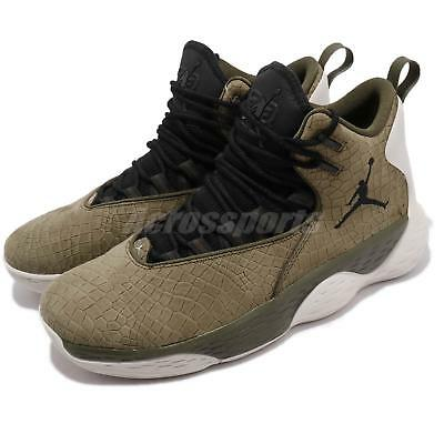 save off aeb55 48894 Nike Jordan Super.Fly MVP PF Olive Canvas Black Men Basketball Shoes AR0038 -300