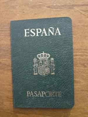 Passport Spain Collectible