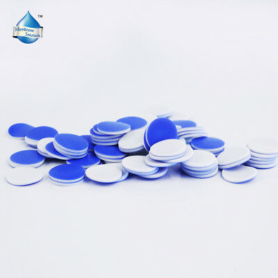 100PCS PTFE/Silicone Septa for 8-425 Screw Caps inline Pad Manual Installed HPLC