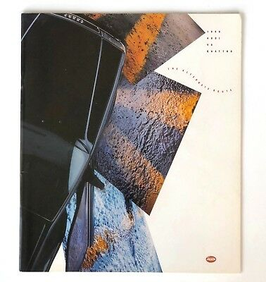 1990 Audi V8 Quattro Sales Brochure 36 Pages Car Engineering Specifications