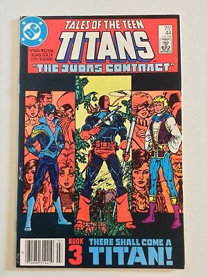 TALES OF THE TEEN TITANS #44 NEWSSTAND EDITION 1st Nightwing! DC 1984 FREE S/H