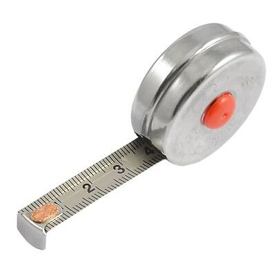 1 Meter Round Retractable Steel  Tape Measure,great Size To Keep In Your Bag.