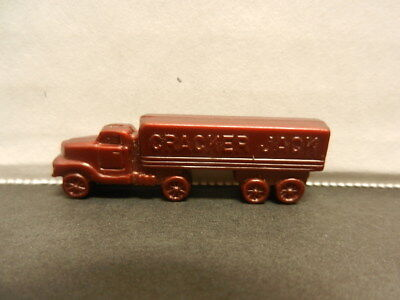 Cracker Jack put-together SEMI TRUCK prize toy, 1950s or 60s