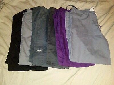 Lot of womens scrub pants size xs/sm